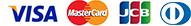 VISA, MasterCard, JCB